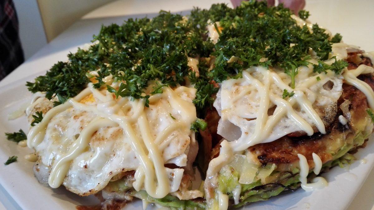 大阪より美味しかった学食のお好み焼き!