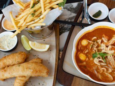 【上海グルメ】シンガポール料理  PS Cafe